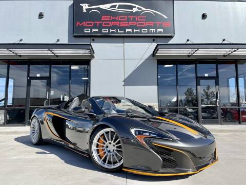 2016 McLaren 650S Spider for sale at Exotic Motorsports of Oklahoma in Edmond OK