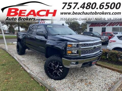 2015 Chevrolet Silverado 1500 for sale at Beach Auto Brokers in Norfolk VA