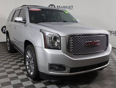 2016 GMC Yukon for sale at Markley Motors in Fort Collins CO
