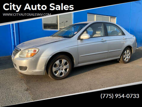 2008 Kia Spectra for sale at City Auto Sales in Sparks NV
