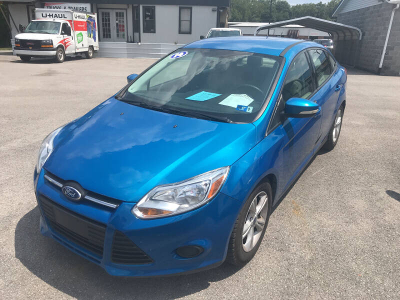 2014 Ford Focus for sale at RACEN AUTO SALES LLC in Buckhannon WV