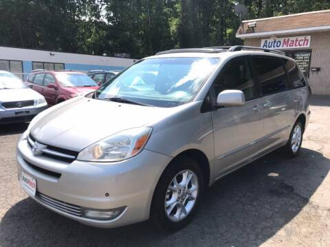 2005 Toyota Sienna for sale at Auto Match in Waterbury CT