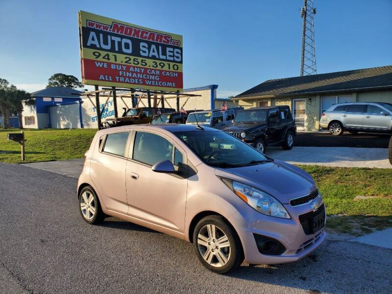 2013 Chevrolet Spark for sale at Mox Motors in Port Charlotte FL