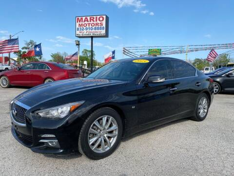 2015 Infiniti Q50 for sale at Mario Motors in South Houston TX