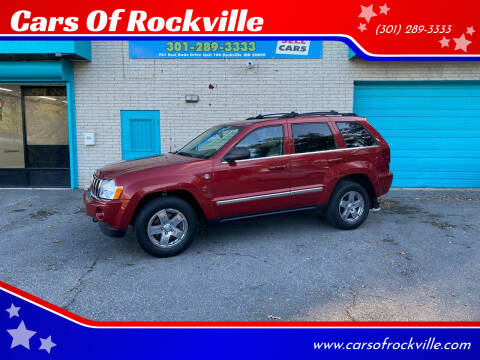 2005 Jeep Grand Cherokee for sale at Cars Of Rockville in Rockville MD