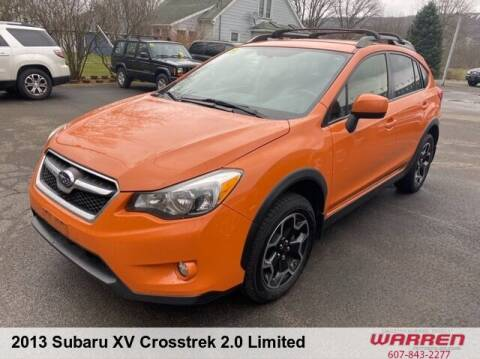 2013 Subaru XV Crosstrek for sale at Warren Auto Sales in Oxford NY