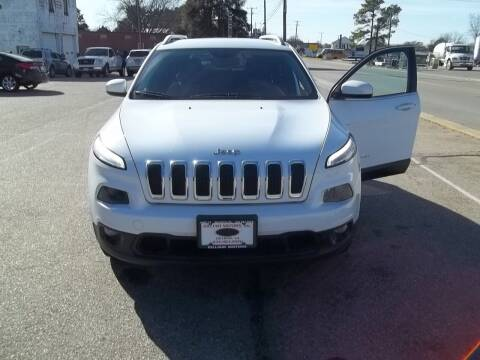 2014 Jeep Cherokee for sale at Gilliam Motors Inc in Dillwyn VA