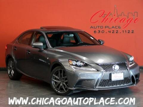2016 Lexus IS 300 for sale at Chicago Auto Place in Bensenville IL