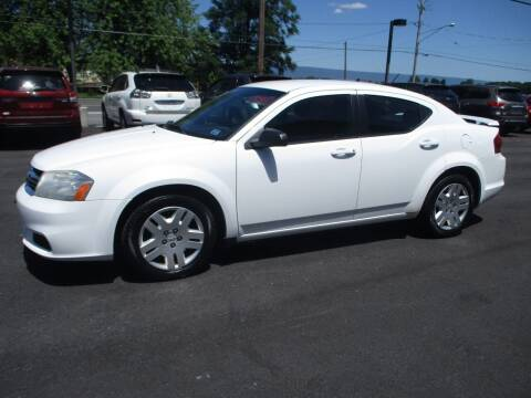 2012 Dodge Avenger for sale at FINAL DRIVE AUTO SALES INC in Shippensburg PA