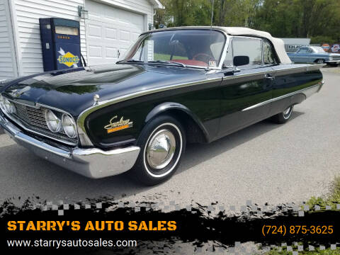1960 Ford Cabriolet  for sale at STARRY'S AUTO SALES in New Alexandria PA