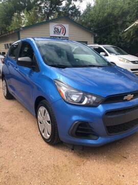 2016 Chevrolet Spark for sale at S & J Auto Group in San Antonio TX
