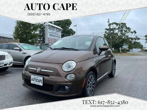 2012 FIAT 500 for sale at Auto Cape in Hyannis MA