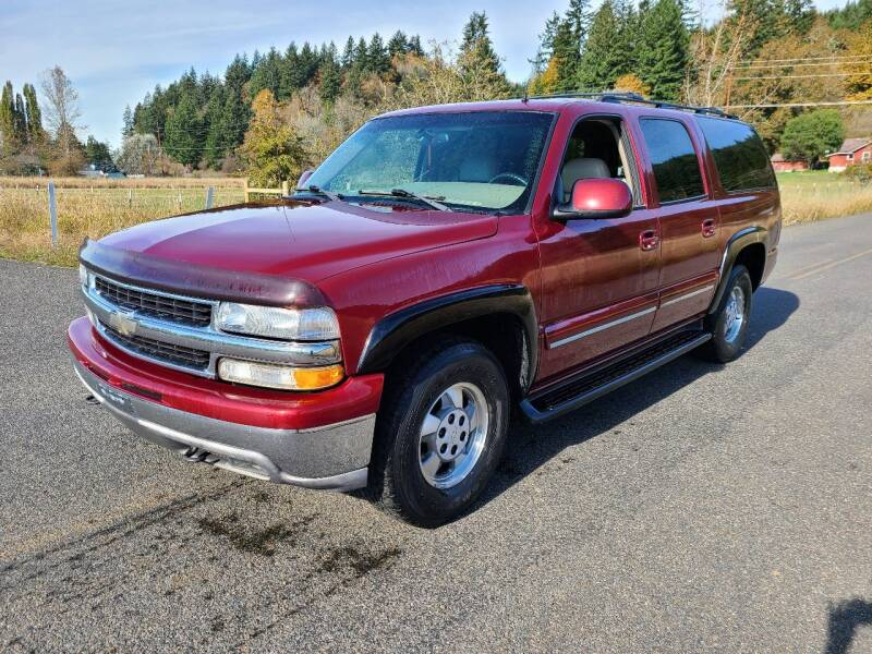 2002 Chevrolet Suburban for sale at State Street Auto Sales in Centralia WA