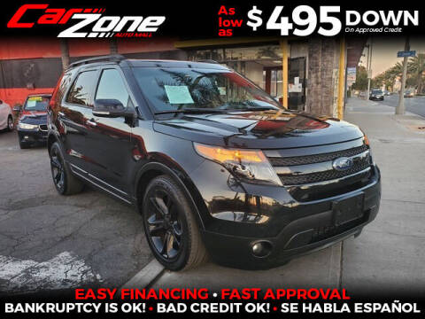 2013 Ford Explorer for sale at Carzone Automall in South Gate CA