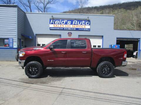 2020 RAM Ram Pickup 1500 for sale at Reid's Auto Sales & Service in Emporium PA