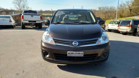 2012 Nissan Versa for sale at DISCOUNT AUTO SALES in Johnson City TN