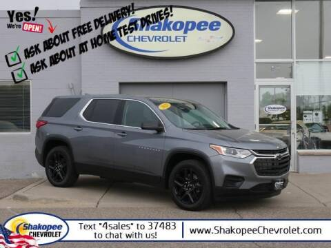 2021 Chevrolet Traverse for sale at SHAKOPEE CHEVROLET in Shakopee MN