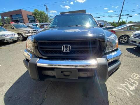 2003 Honda Pilot for sale at AR's Used Car Sales LLC in Danbury CT