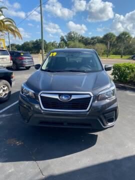 2019 Subaru Forester for sale at DUNEDIN AUTO SALES INC in Dunedin FL