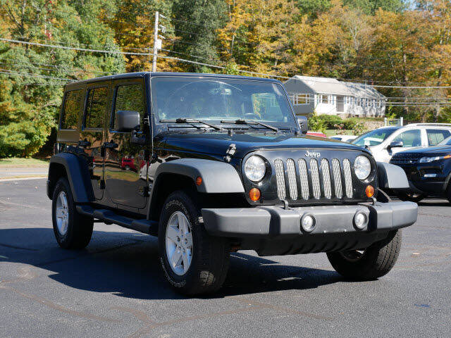 2013 Jeep Wrangler Unlimited for sale at Canton Auto Exchange in Canton CT