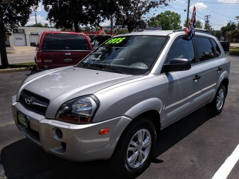 2009 Hyundai Tucson for sale at Oak Hill Auto Sales of Wooster, LLC in Wooster OH