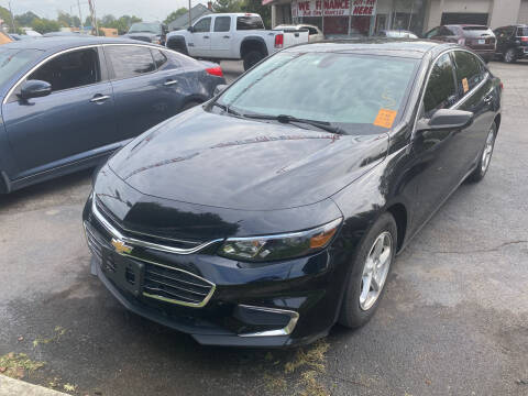 2016 Chevrolet Malibu for sale at Right Place Auto Sales in Indianapolis IN