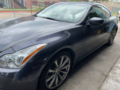 2008 Infiniti G37 for sale at Demetry Automotive in Houston TX