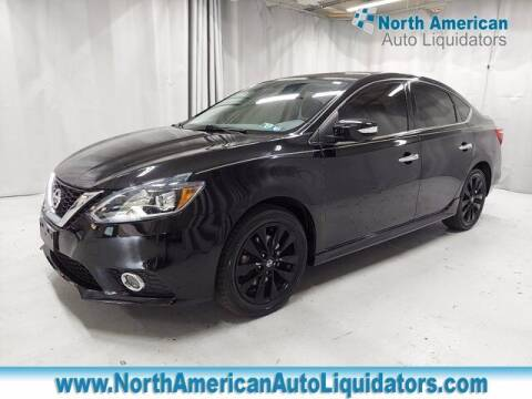 2017 Nissan Sentra for sale at North American Auto Liquidators in Essington PA