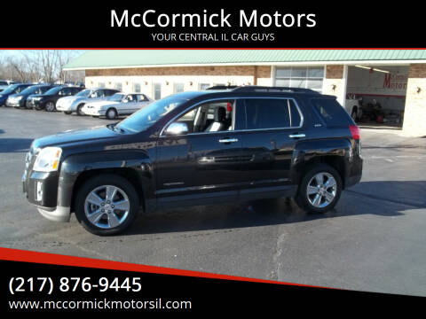 2014 GMC Terrain for sale at McCormick Motors in Decatur IL
