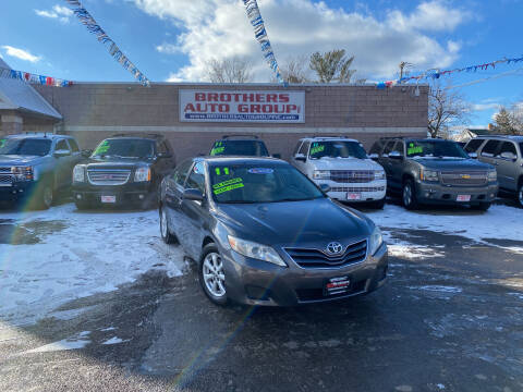 2011 Toyota Camry for sale at Brothers Auto Group in Youngstown OH