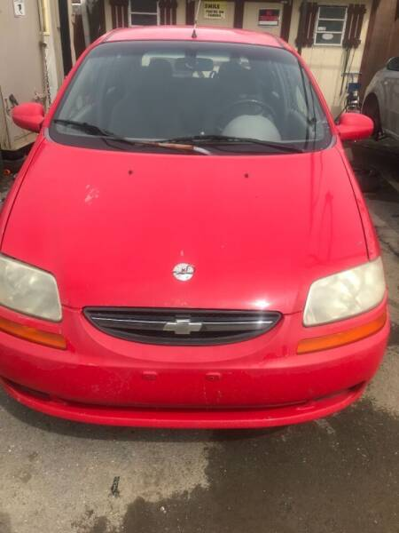 2004 Chevrolet Aveo for sale at PREOWNED CAR STORE in Bunker Hill WV