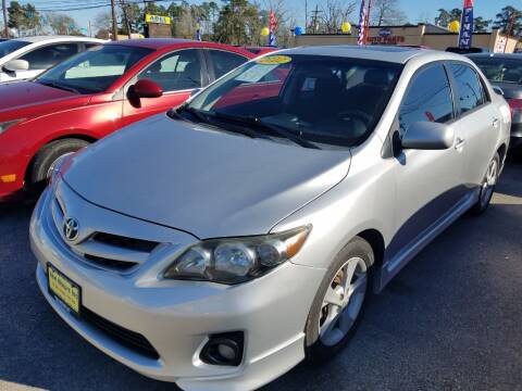 2012 Toyota Corolla for sale at Abel Motors, Inc. in Conroe TX