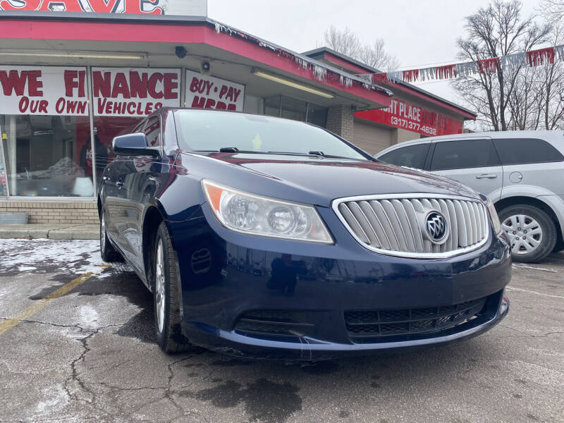 2011 Buick LaCrosse for sale at Right Place Auto Sales in Indianapolis IN