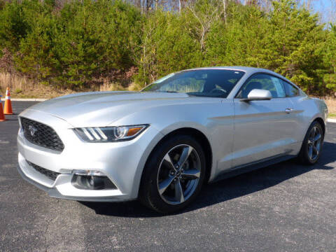 2015 Ford Mustang for sale at RUSTY WALLACE KIA OF KNOXVILLE in Knoxville TN