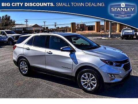 2019 Chevrolet Equinox for sale at STANLEY FORD ANDREWS in Andrews TX