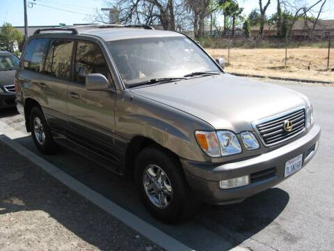 1999 Lexus LX 470 for sale at StarMax Auto in Fremont CA