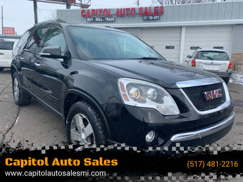 2011 GMC Acadia for sale at Capitol Auto Sales in Lansing MI