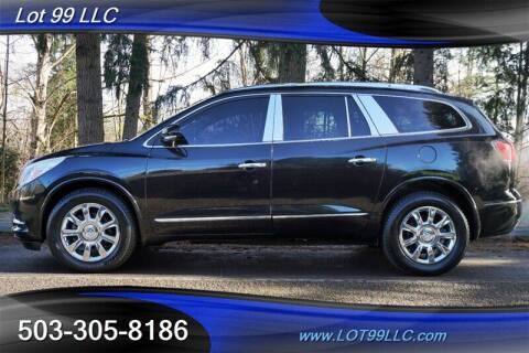 2014 Buick Enclave for sale at LOT 99 LLC in Milwaukie OR