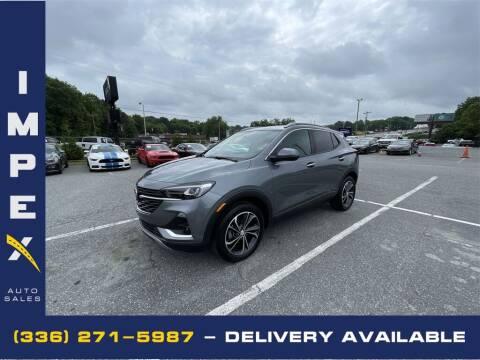 2020 Buick Encore GX for sale at Impex Auto Sales in Greensboro NC