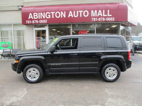 2015 Jeep Patriot for sale at Abington Auto Mall LLC in Abington MA
