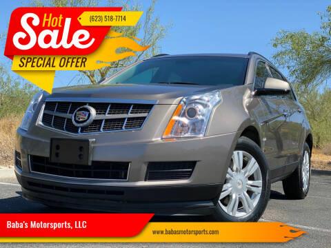 2011 Cadillac SRX for sale at Baba's Motorsports, LLC in Phoenix AZ