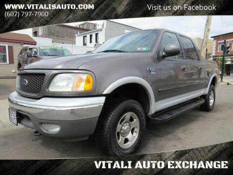 2002 Ford F-150 for sale at VITALI AUTO EXCHANGE in Johnson City NY