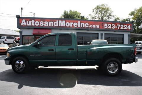 2003 Dodge Ram Pickup 3500 for sale at Autos and More Inc in Knoxville TN