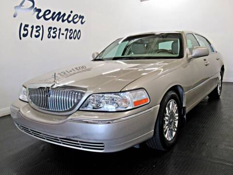 2011 Lincoln Town Car for sale at Premier Automotive Group in Milford OH