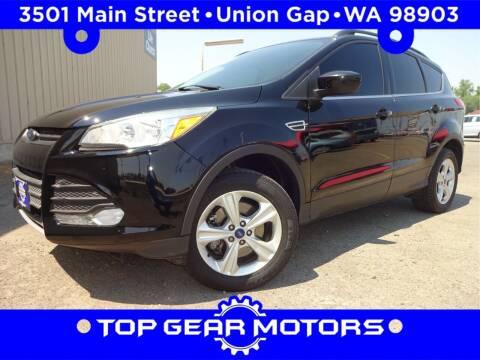 2016 Ford Escape for sale at Top Gear Motors in Union Gap WA
