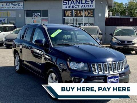 2014 Jeep Compass for sale at Stanley Automotive Finance Enterprise - STANLEY FORD SWEETWATER in Sweetwater TX