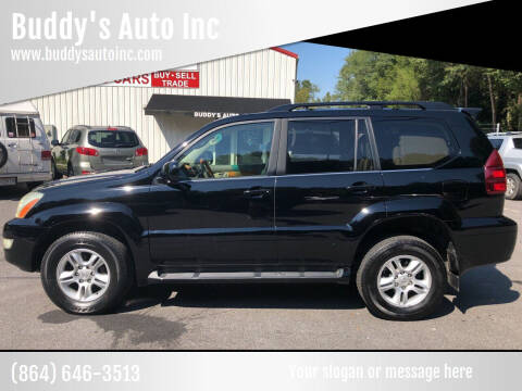 2006 Lexus GX 470 for sale at Buddy's Auto Inc in Pendleton SC