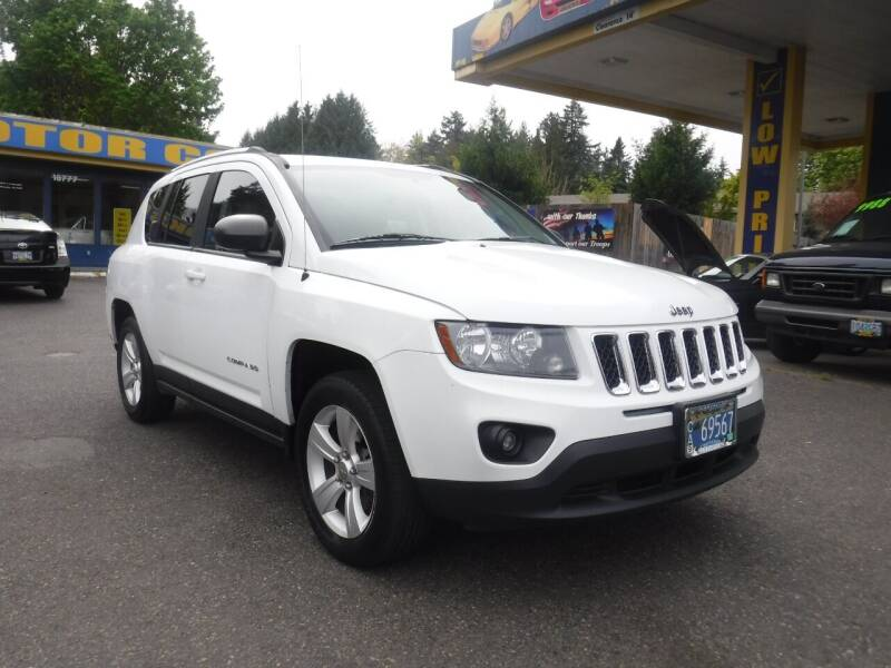 2014 Jeep Compass for sale at Brooks Motor Company, Inc in Milwaukie OR