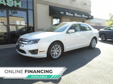 2012 Ford Fusion for sale at Wilson-Maturo Motors in New Haven CT