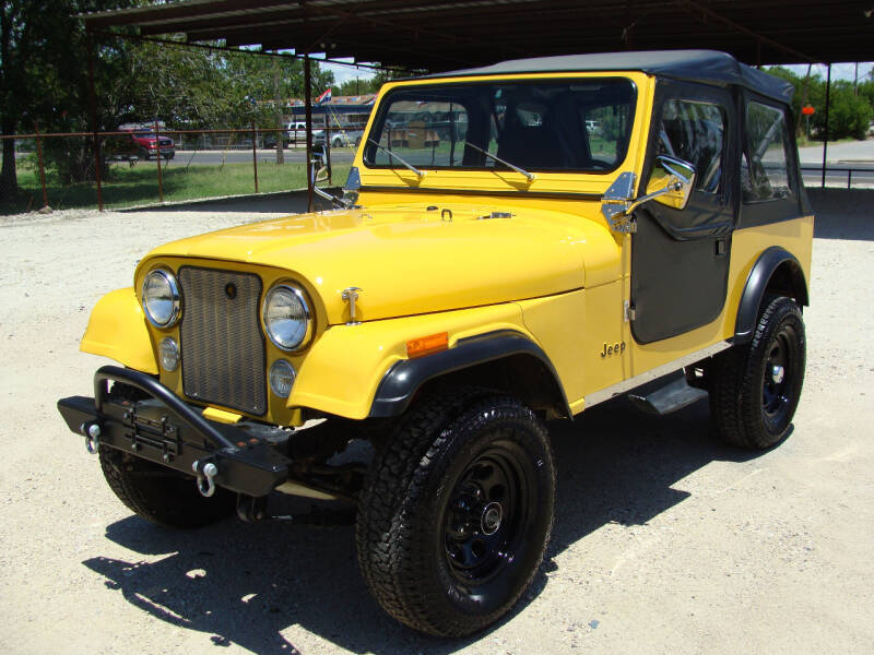 1986 Jeep CJ-7 for sale at Texas Truck Deals in Corsicana TX